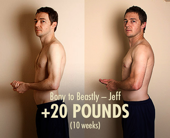 Jeff's 20 Pound Skinny Guy Transformation