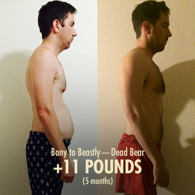 Deadbear's 11 Pound Transformation