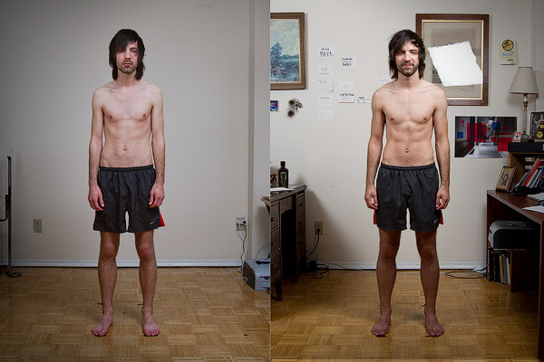 Jared Polowick skinny to muscular ectomorph bulking progress photos