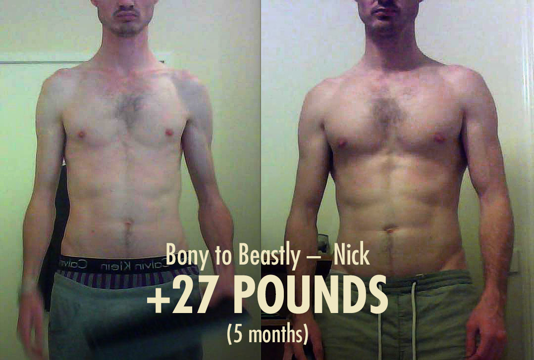 Bony to Beastly Ectomorph Transformation—Nick