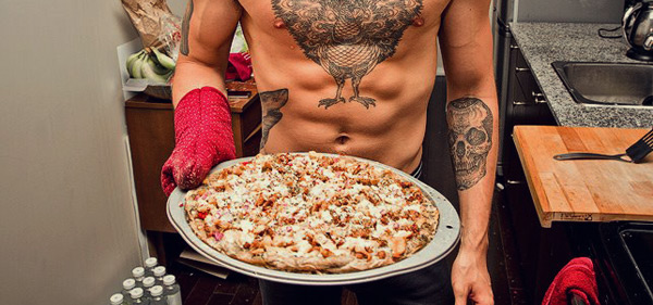 Ectomorph Muscle-Building Vice Guide: Pizza