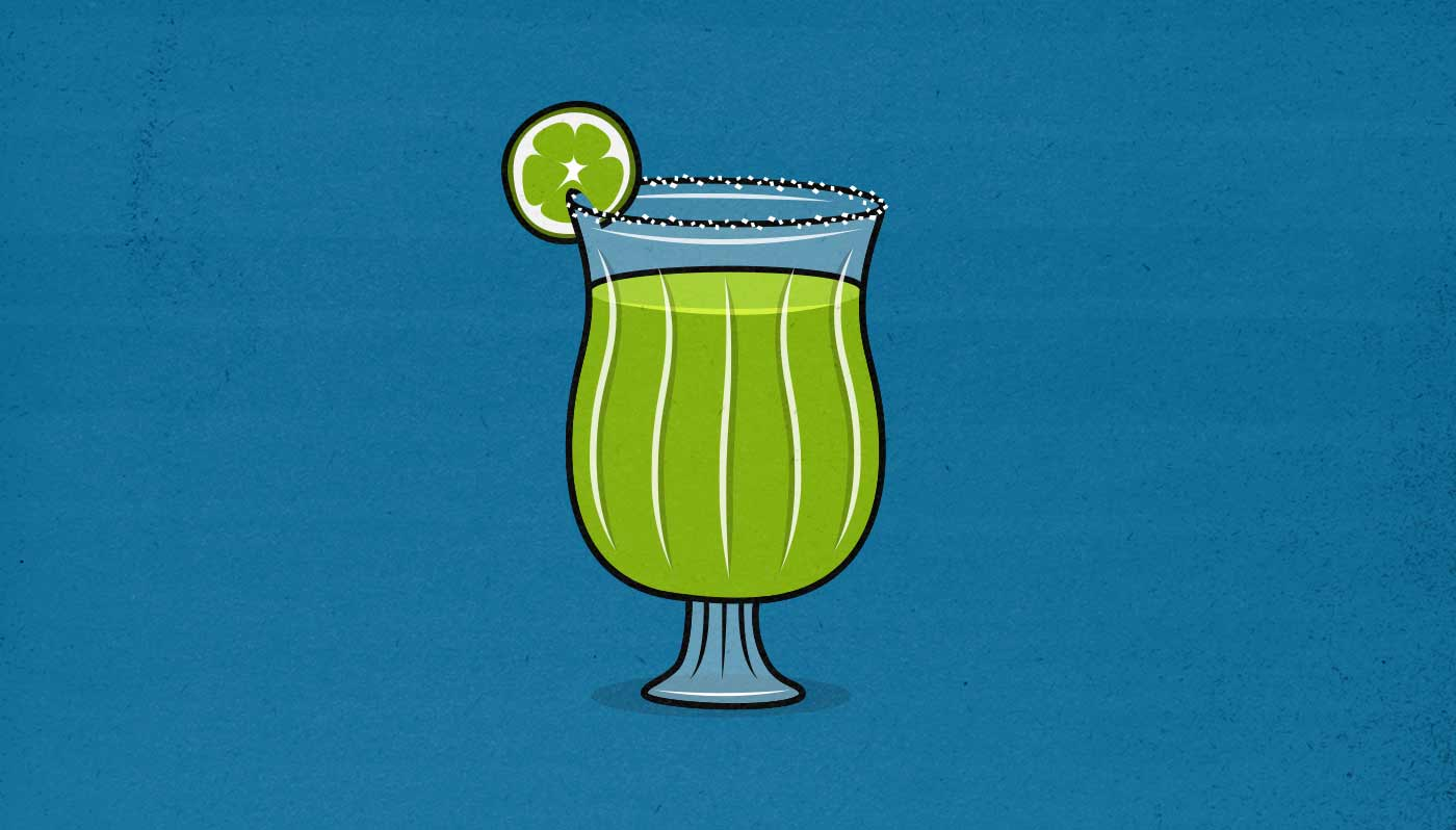 Illustration of a margarita