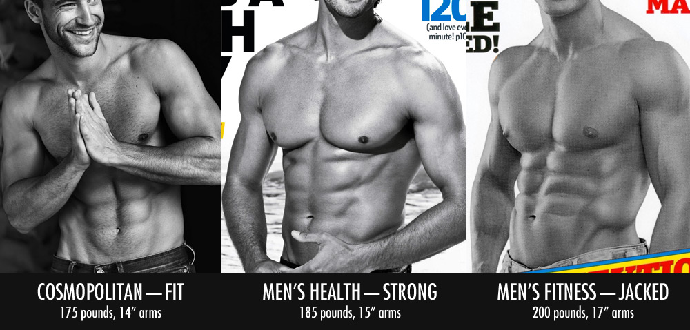 Male Fitness Model Average Weight