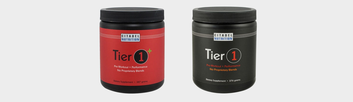 Citadel Nutrition's Tier One—The Best Pre-Workout Supplement for Skinny Ectomorphs Trying to Build Muscle