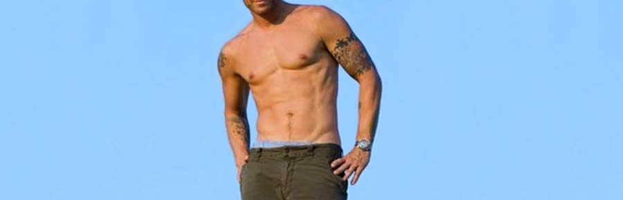 Which celebrity male physique is the most attractive to women? Bob Harper