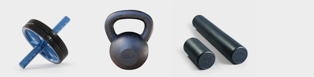 How to Build a Home Gym / Home Workout – The Best Kettlebell, Ab Roller and Foam Roller