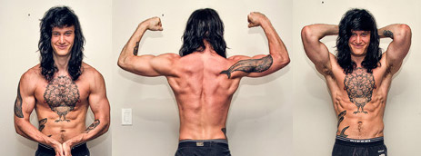 Can us skinny guys / ectomorphs build muscle by doing bodyweight workouts / callisthenics for a Frank Medrano body?
