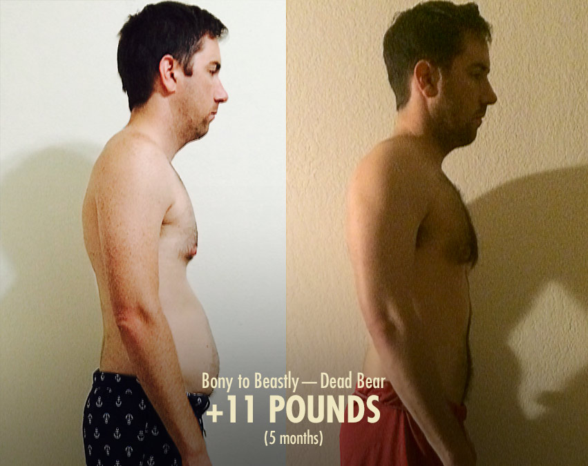 Skinny-Fat Transformation (Before & After) with Bony to Beastly