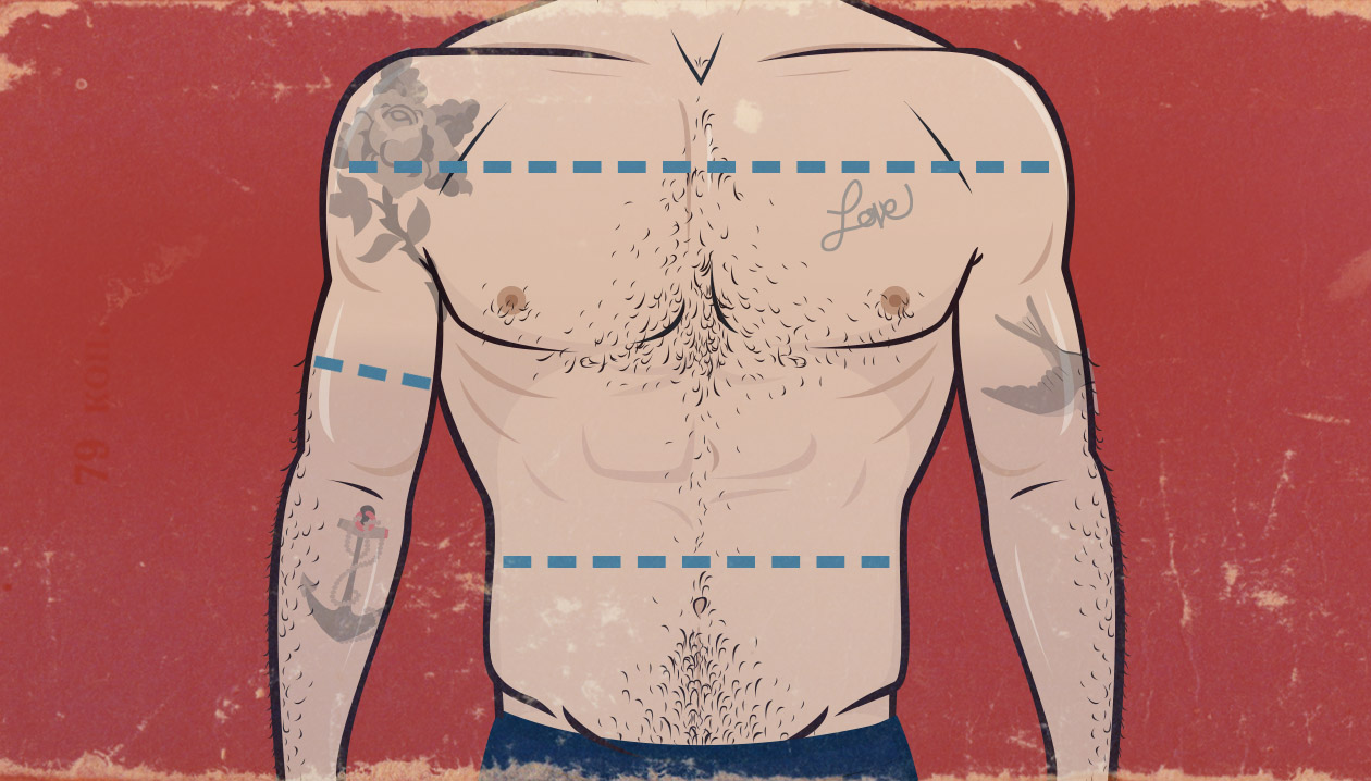 How To Build A More Attractive Physique Infographic