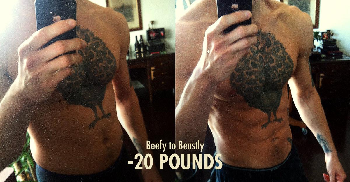 Bony to Beastly Cutting Body Fat Percentage