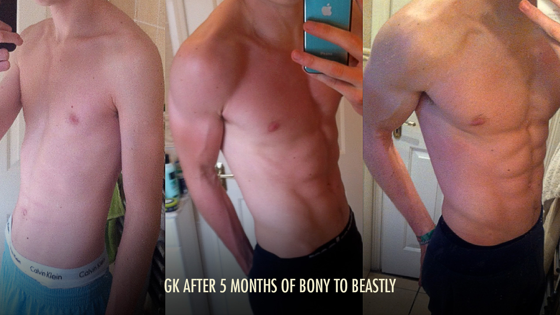 Bony to Beastly Ectomorph Transformation Skinny Hardgainer Genetics