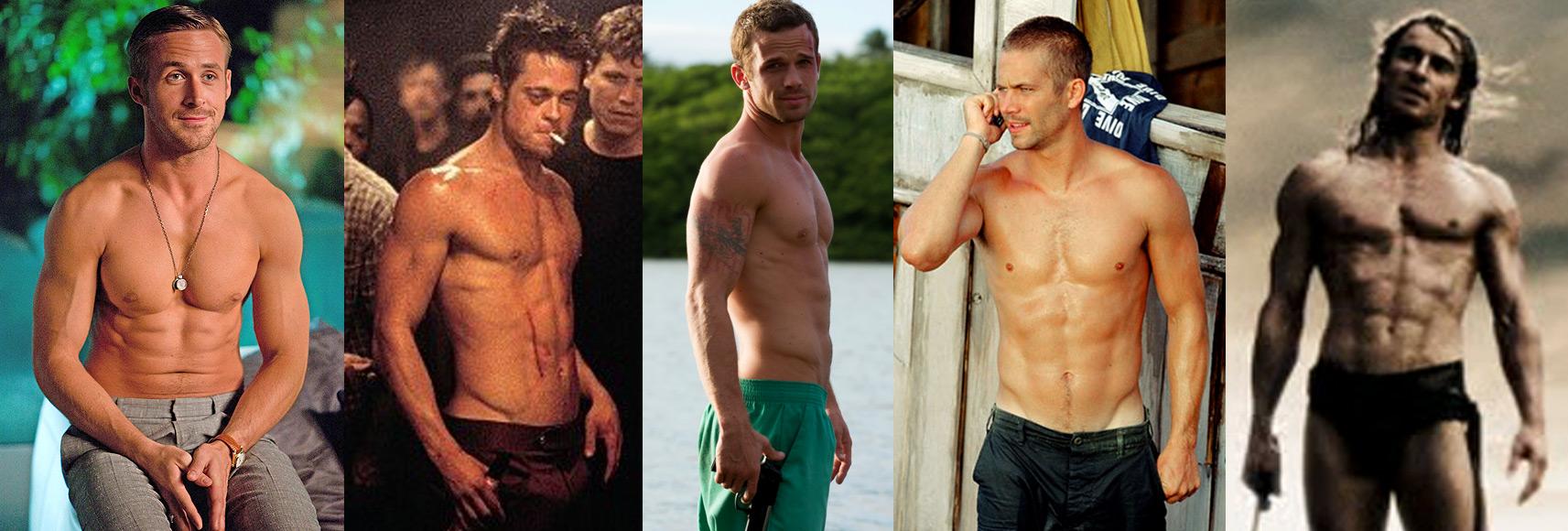 Ryan Gosling, Brad Pitt, Cam Gigandet, Paul Walker, Michael Fassbender Bodies & Ectomorph Genetics
