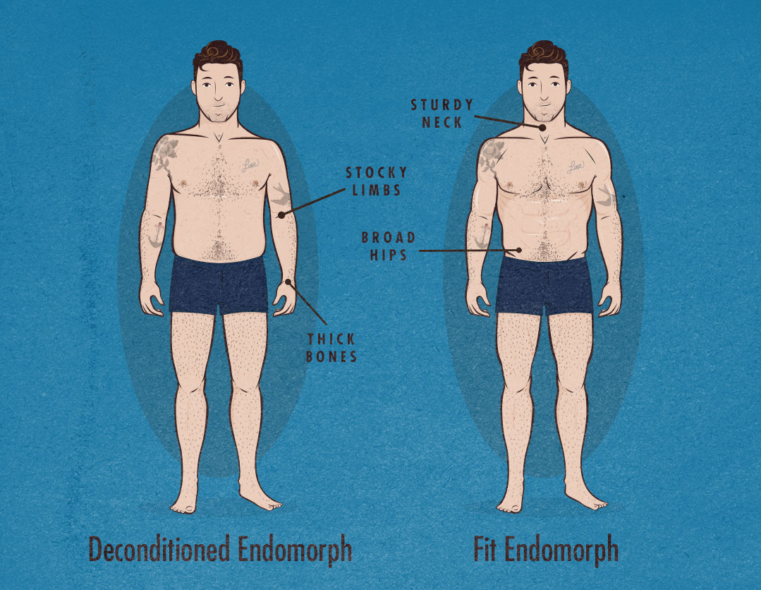 How to Tell If You're an Endomorph Body Type (Somatotype)