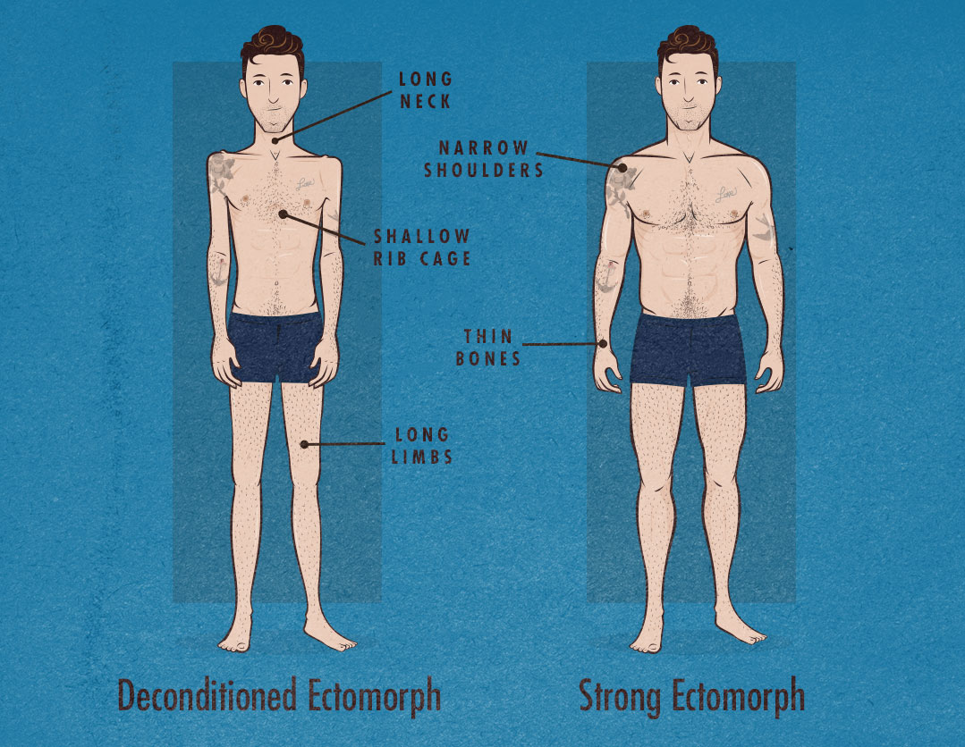 How to Tell If You're an Ectomorph Body Type (Somatotype)