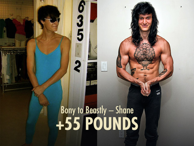 Bony to Beastly Ectomorph Transformation Shane
