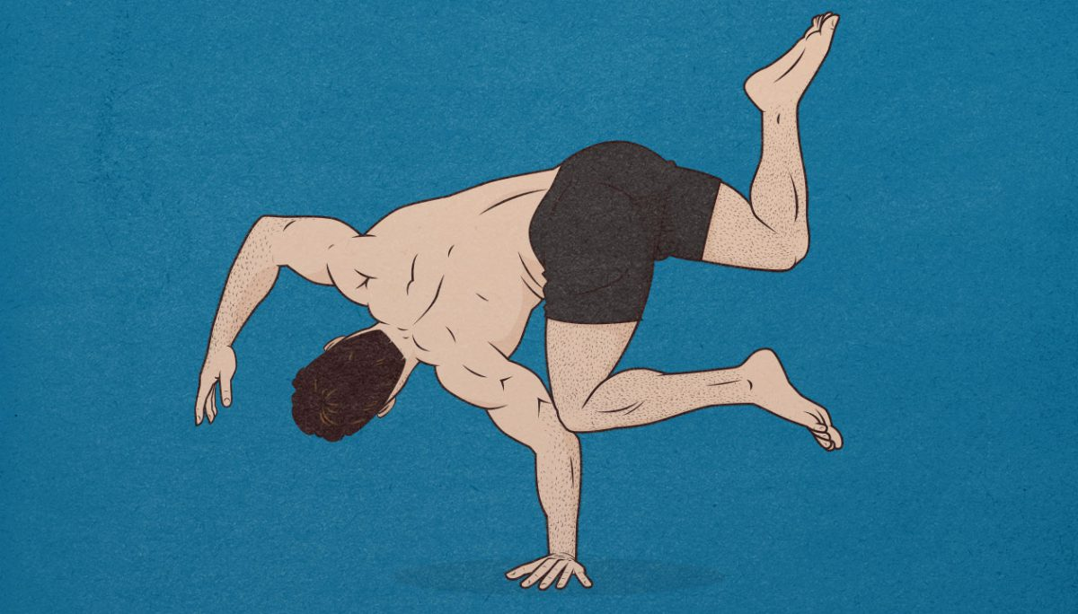 Bony to Beastly: Conspicuous Fitness (image inspired by Ido Portal)