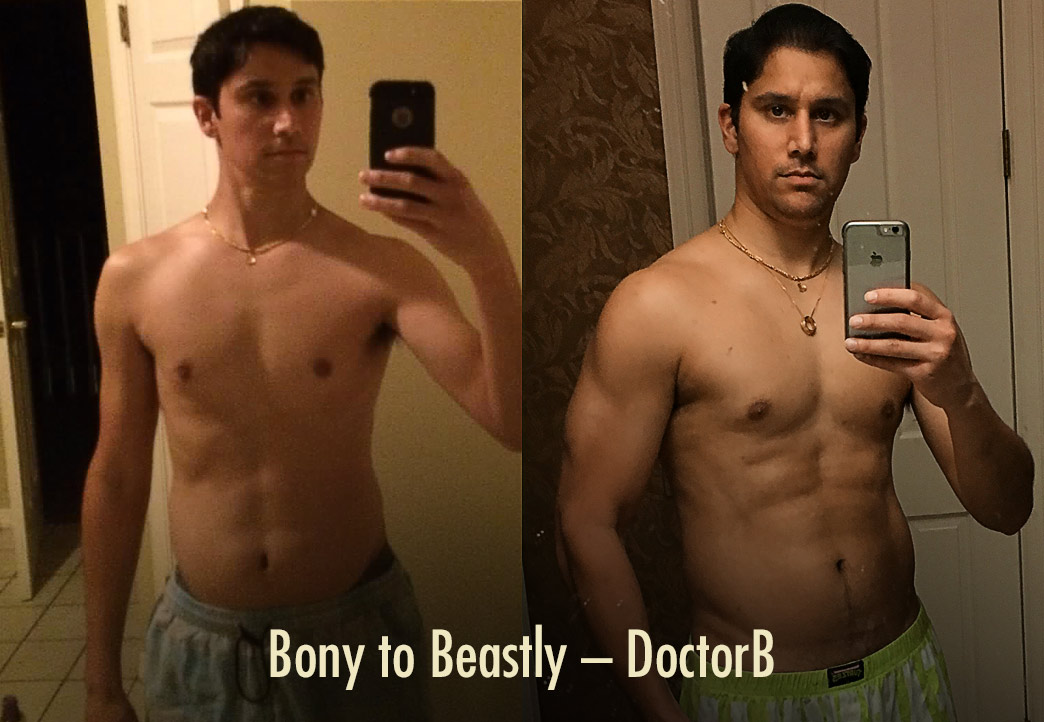DoctorB Ectomorph Transformation: How to Raise Testosterone Naturally