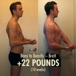 Brett's 22-pound ectomorph transformation in just 10 weeks!