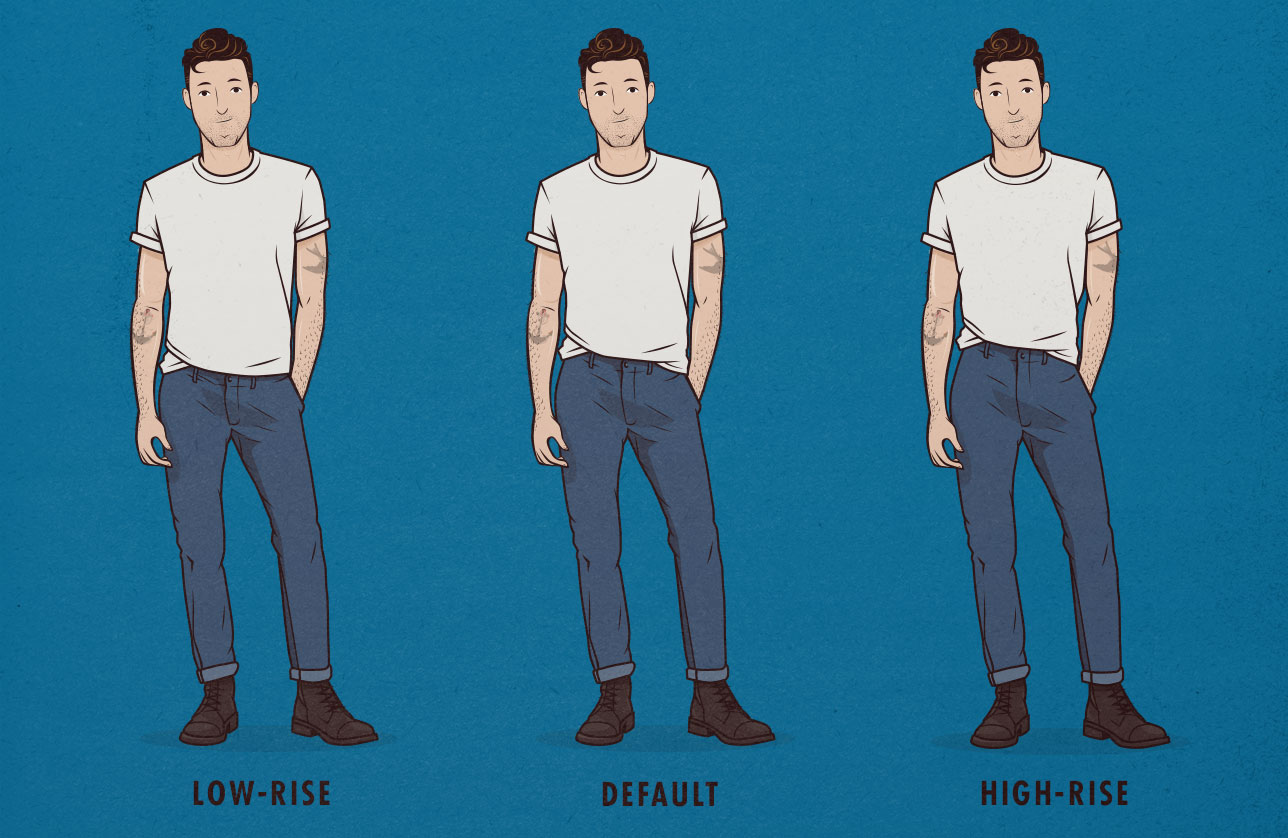 a2f4b00ad196 The most common advice is to get low-rise jeans if you re going to wear  your pants lower around your hips