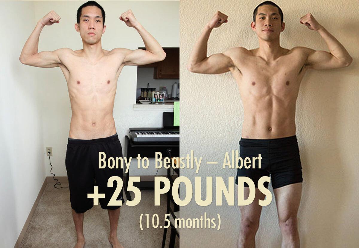 Albert-doctor-transformation-bony-to-beastly