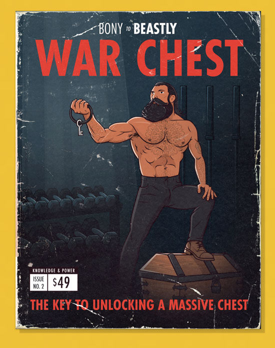 War Chest—The Best Muscle-Building Program For Ectomorphs With a Stubborn Chest
