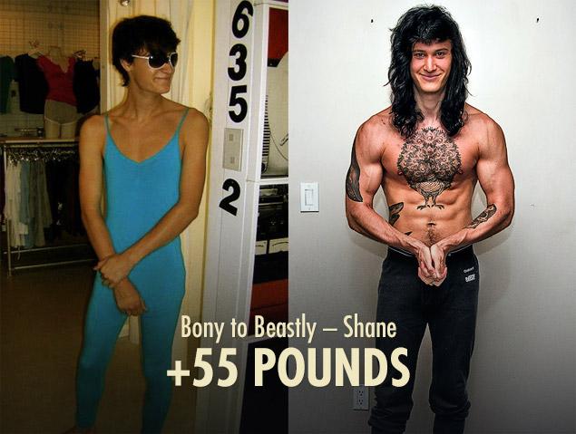 Shane Duquette Ectomorph / Hardgainer Transformation