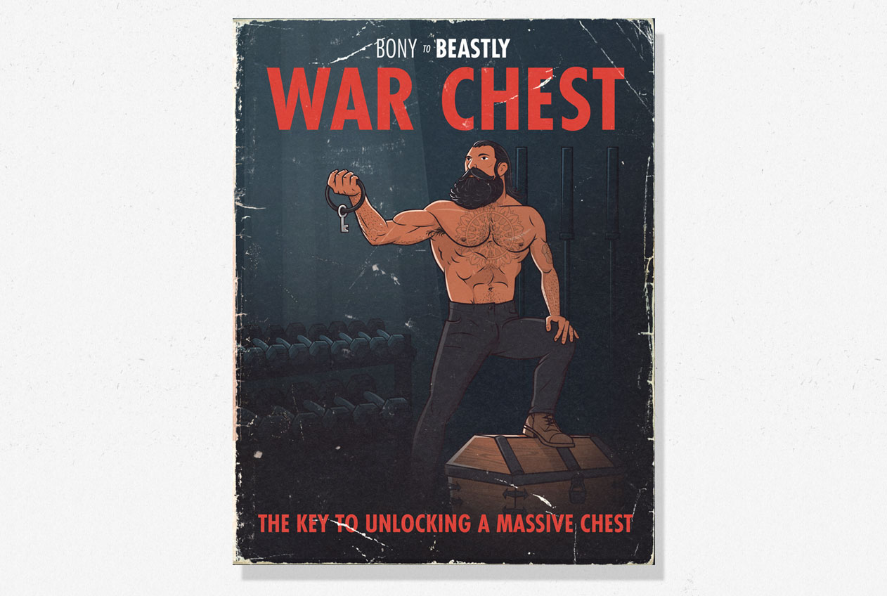 War Chest: The chest workout program for stubborn or lagging pecs
