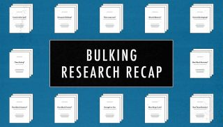Review of Bulking Research for Ectomorphs, Hardgainers & Skinny Guys