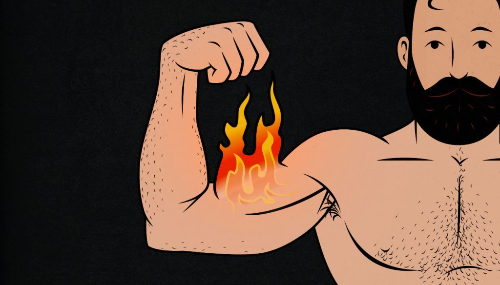 The Role of inflammation in building muscle