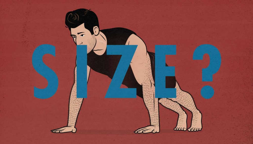 Are Bodybuilding Exercises Good for Gaining Muscle Size? (Push-Up Illustration)