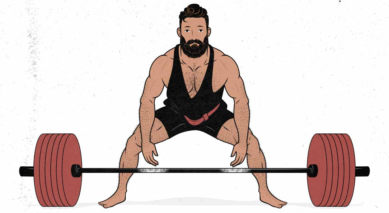 Sumo Deadlift Illustration
