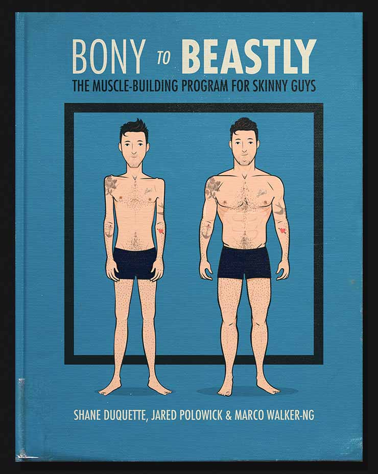 Cover of the Bony to Beastly Bulking Guide