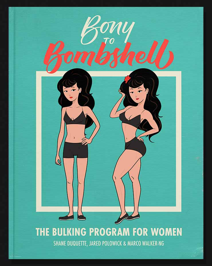 Cover image of the Bony to Bombshell Bulking Program for Women