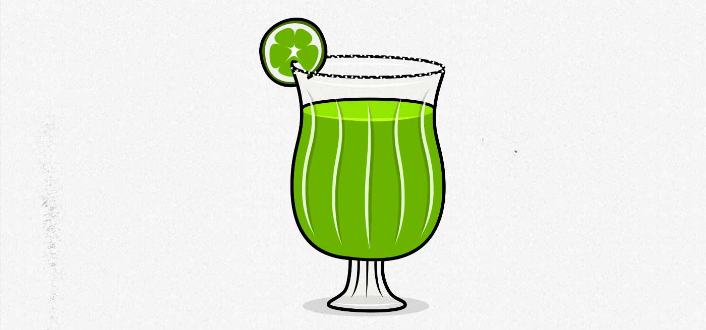 Illustration of a margarita.
